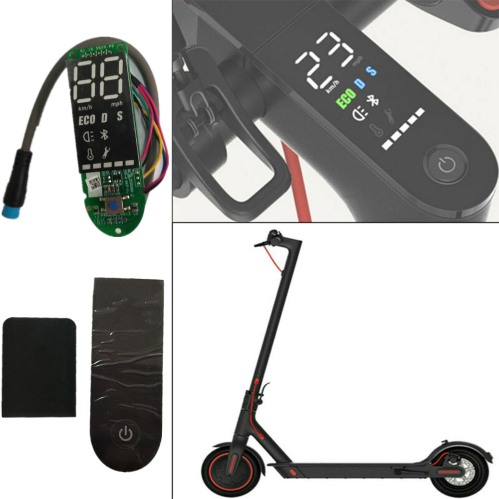 Circuit Board Upgrade PCB Circuit For <font><b>Xiaomi</b></font> <font><b>Mijia</b></font> <font><b>M365</b></font> <font><b>Pro</b></font> Scooter Dashboard Main Board Kit Speed <font><b>Display</b></font> image