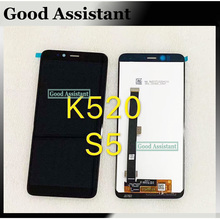 Black 5.7 inch For Lenovo S5 K520 Full LCD DIsplay Touch Screen Digitizer Assembly Replacement parts