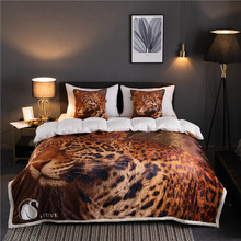 Cheetah pattern Winter Thick Comfy Blanket Adults and Children Fleece Weighted Blankets for Beds Travel