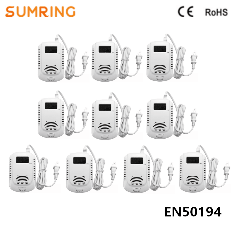 Gas Detector Best Selling Products Cooking Alarm Intelligent Gas Leak Detector