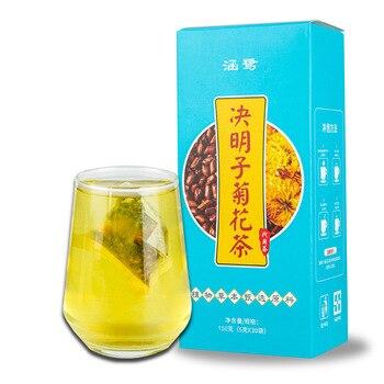 цена на Hot Effective 30 Teabags Chrysanthemum Medlar Cassia Seed Eye Bright Natural Herbal Health Personal Care Tea