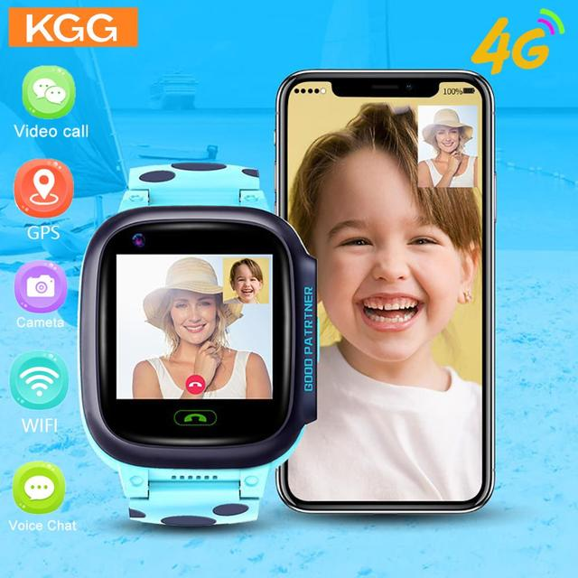 Y95 4G Child Smart Watch Phone GPS Kids Smart Watch Waterproof Wifi Antil-lost SIM Location Tracker Smartwatch HD Video Call 1