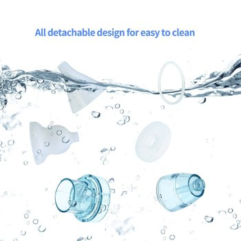 Electronic Nasal Aspirators Safe Fast Hygienic Cleaner Machine W/ 3-Suction Baby Nasal Aspirator Nasal Aspirator For Baby