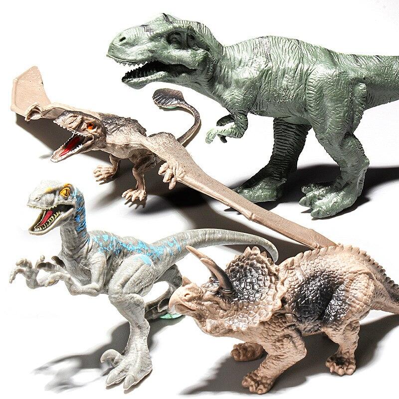 Игрушка-динозавр с имитацией, модели животных, тираннозавр, мир Юрского периода, реалистичные фигурки, динозавр Брахиозавр, игрушки для мал...