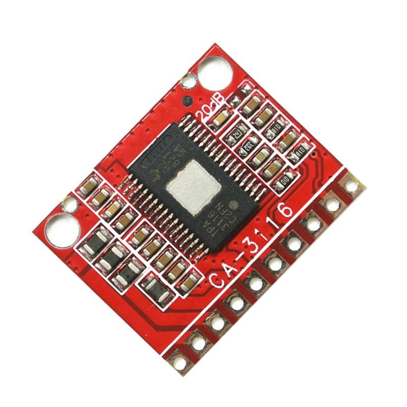 2Pcs/Lot CA-3116 2X50W Dual Sound Digital Amplifier Board 24V 100W
