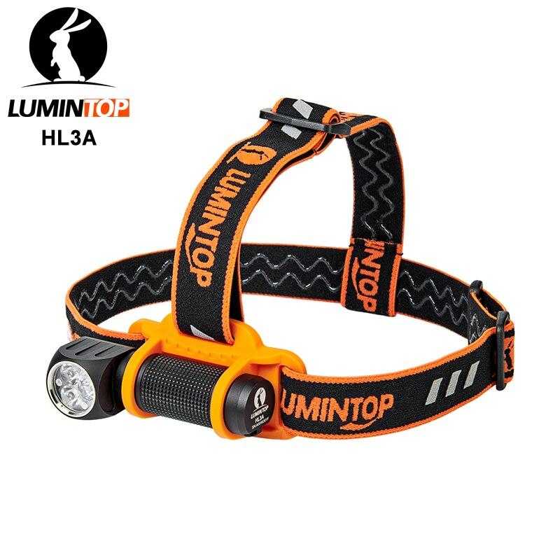 Lumintop HL3A 18650 mini flashlight 90 degree twist 2800 lumens Anduril firmware headlight with magnetic tail tool flashlight 1
