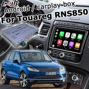 Интерфейсная коробка для Volkswagen Touareg 2010-2018 RNS850, Android/carplay, видео интерфейс, youtube, yandex