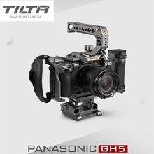 تيلتا DSLR هيكل قفصي الشكل للكاميرا لباناسونيك لوميكس GH5 GH5S GH4 تلاعب عدة TA T37 A G مقبض علوي الجانب التركيز