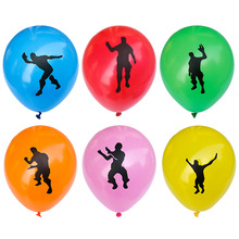 6 Pcs/lot  10 Inch Hot Sale of New Fortress Night Character Latex Balloons Mexican Carnival Party Deceration