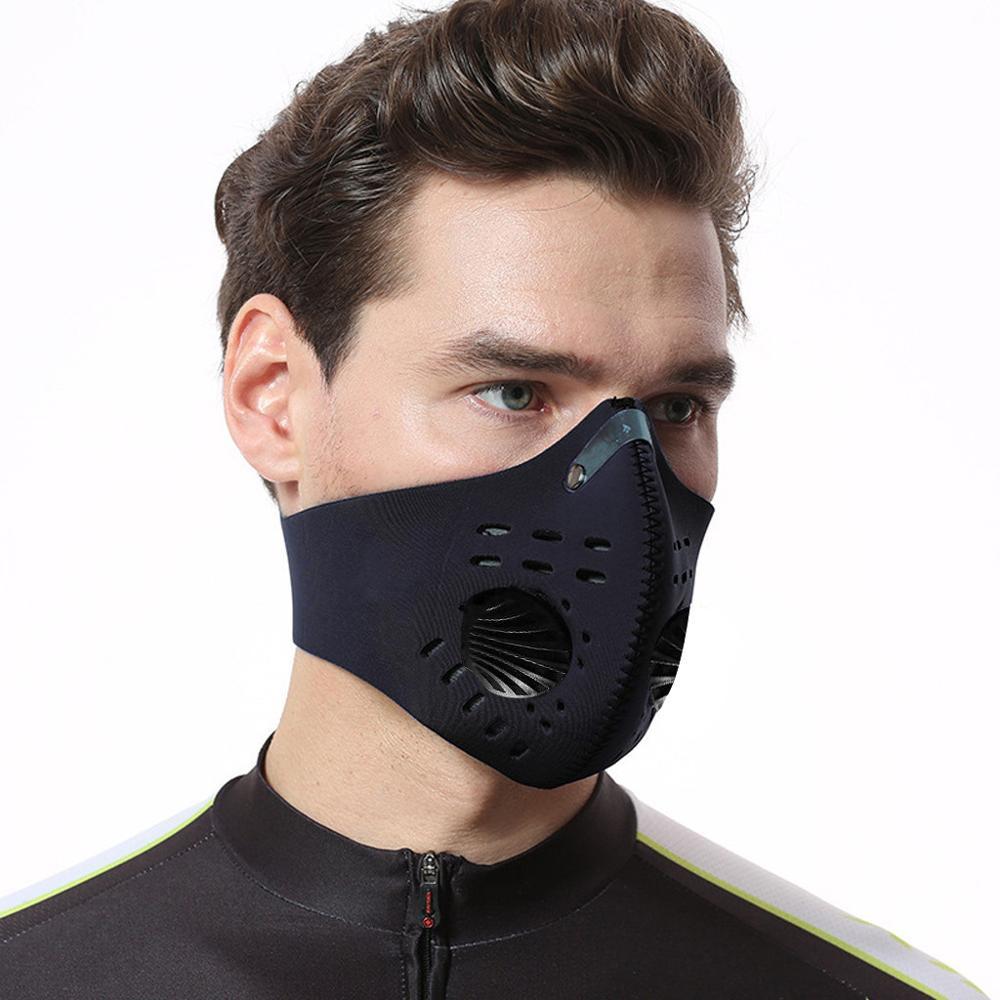 Многоразовые моющиеся фильтры для лица, маска для лица, женская спортивная маска, пылезащитные маски для лица, маска для лица|Маска для велоспорта| | АлиЭкспресс