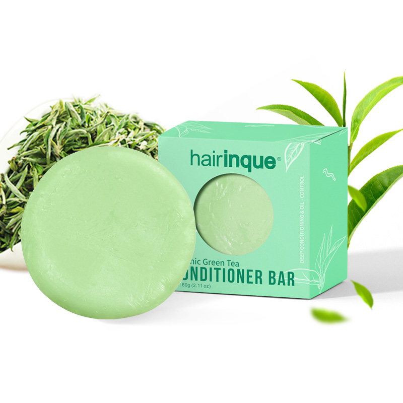 Green Tea Fragrance Hair Handmade Moisturizing Nourishing Hair Care Soap 60G