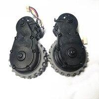 로봇 진공 청소기 액세서리 Ecovacs 용 바퀴 Deebot DG710/DG711/DG716 로봇 진공 청소기 부품 왼쪽 오른쪽 바퀴