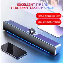 3D Surround Soundbar Speaker Wired Computer Speakers Stereo Subwoofer Sound Bar Bluetooth 5.0 For Laptop PC Theater TV 3.5mm