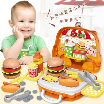 Plastikowa przenośna walizka zabawki narzędzie kuchnia kosmetyki medyczne Juguetes chłopiec dziewczyna edukacyjne udawaj zagraj w zabawki dla dzieci pojemnik na bagaże tanie i dobre opinie ALCTOYS Z tworzywa sztucznego Unisex Zabawki kuchenne zestaw Plastic toys under 14 years old 601-608 Unlimited Juvenile (7 14 years old)