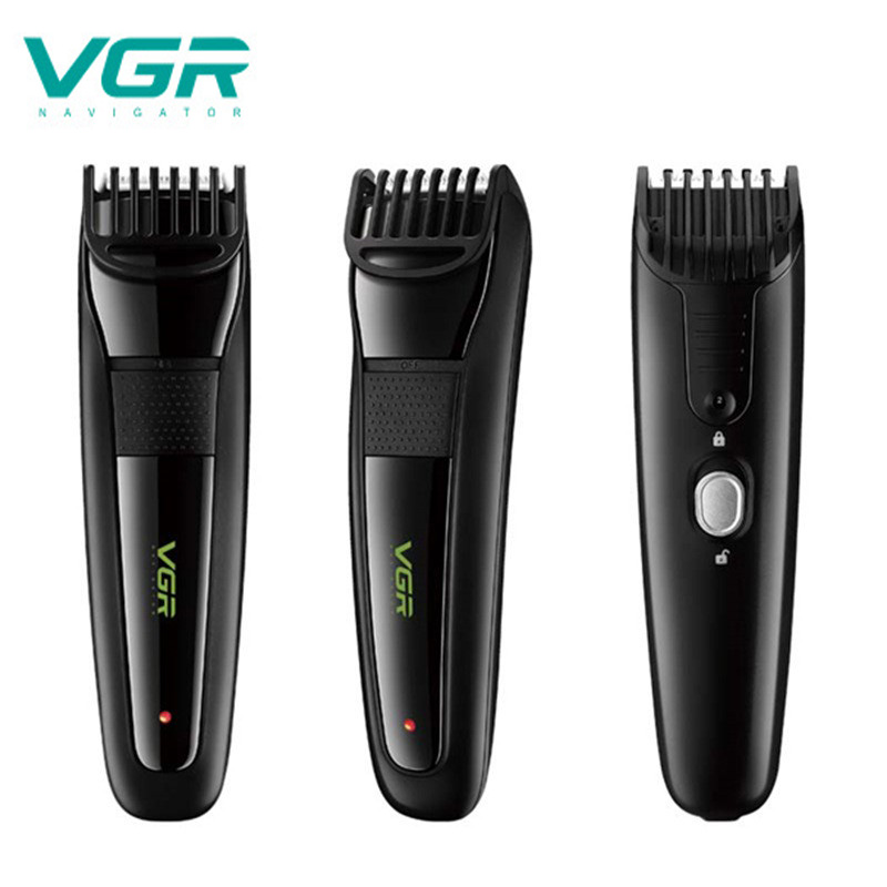 VGR V015 Multifunction Hair Clipper USB Rechargeable Waterproof Professional Hair Trimmer 12 Gears Adjustable Electric Clipper