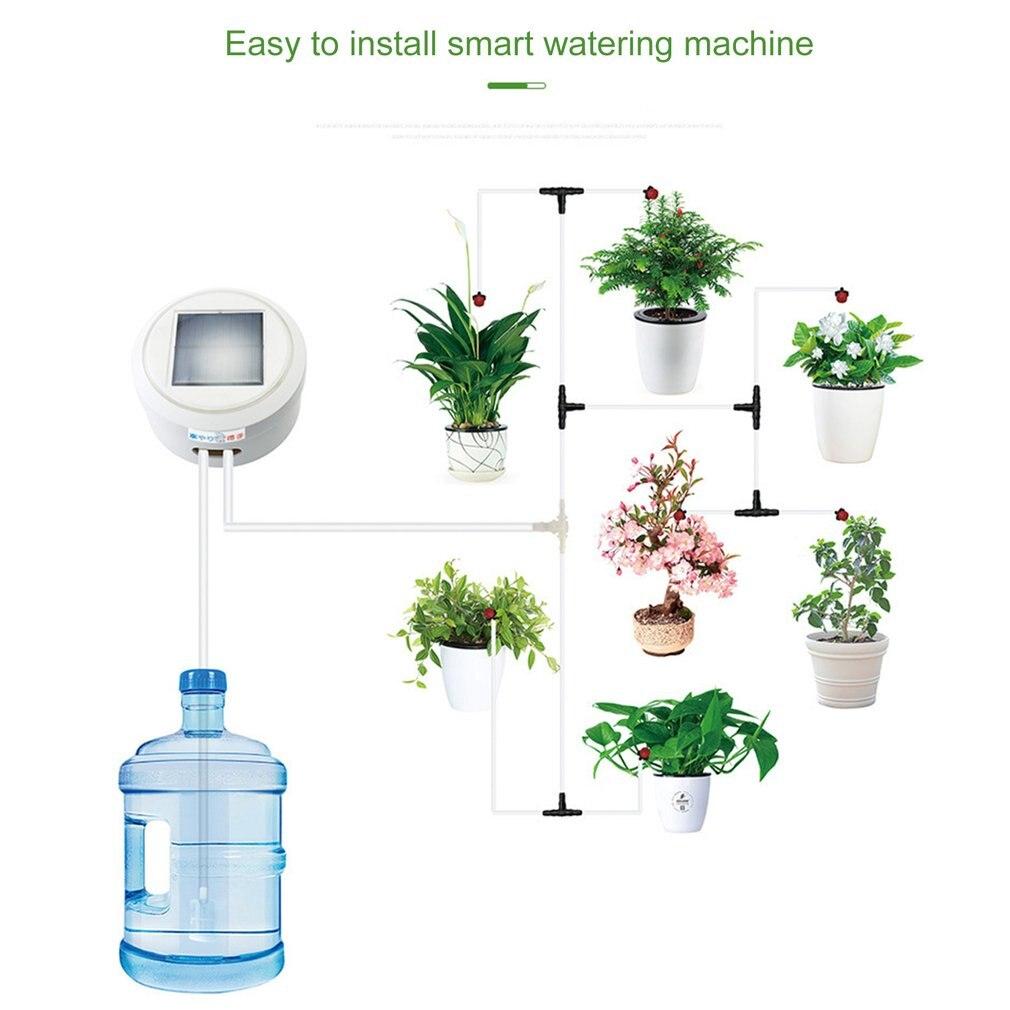 Solar Automatische Bewässerung Gerät Haushalts Intelligente Timing Automatische Bewässerung Gerät Lade Wasser Versickerung
