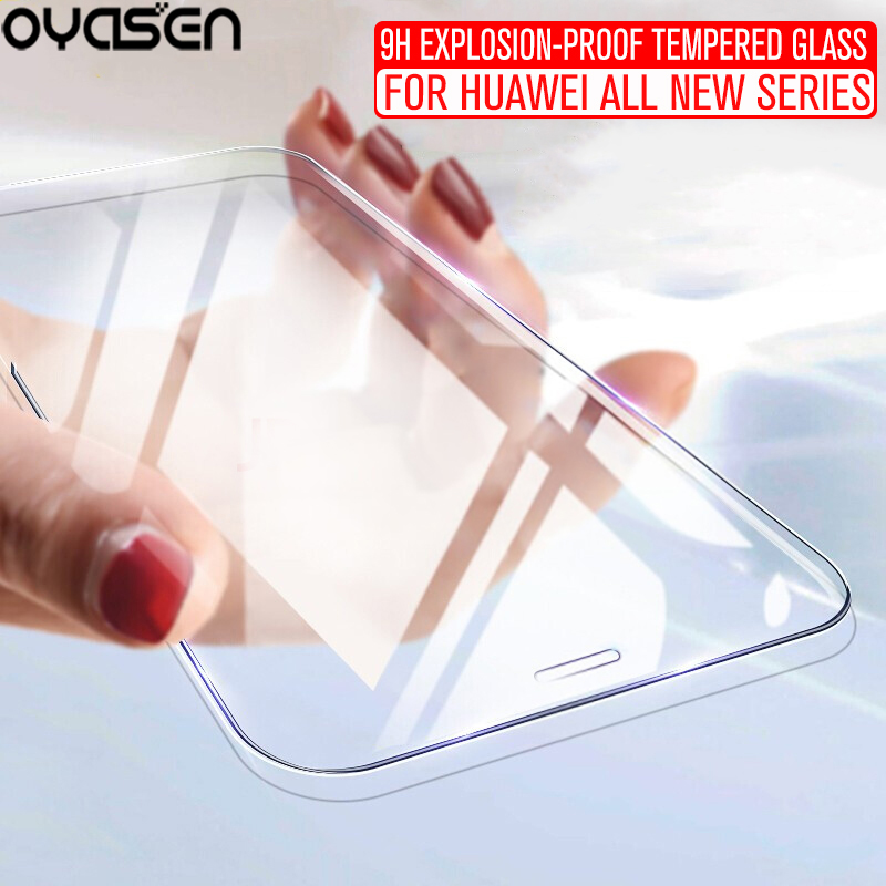 Tempered <font><b>Glass</b></font> For <font><b>Huawei</b></font> P20 Lite Pro <font><b>Honor</b></font> 7A 7C 7X 8X 9 View 10 20 Lite Pro 9H Explosion-proof Screen Protector image