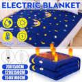 180x150cm 220V invierno calentador de manta eléctrica Individual Doble calentador de cuerpo manta calefactora eléctrica manta caliente almohadilla enchufe de EE. UU.
