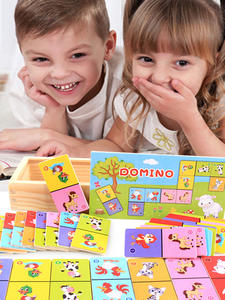 Board-Game Wooden-Toys Children's No Cognitive Solitaire Beech Early-Learning High-Grade