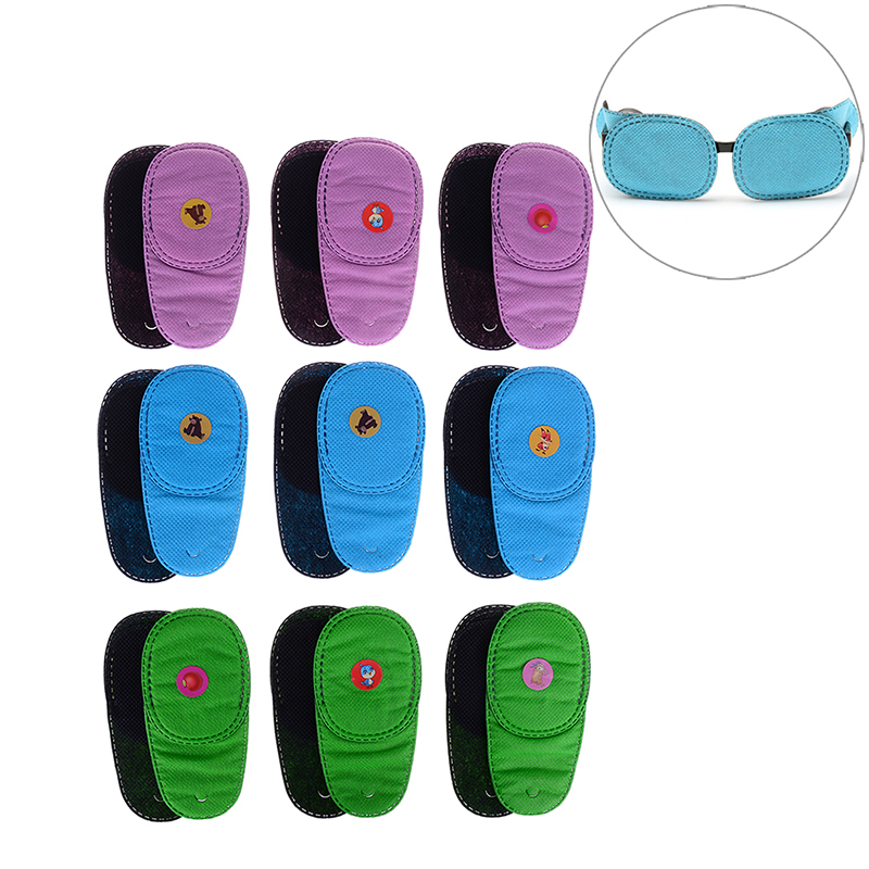 6Pcs/lot Child Occlusion Medical Lazy Eye Patch For Amblyopia Kids Children Health Care(China)