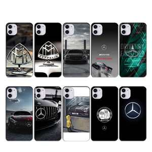 Wumeiyuan Mercedes-Benz Maybach case coque fundas for iphone 11 PRO MAX X XS XR 4S 5S 6S 7 8 PLUS SE 2020 cases cover