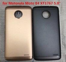 TOOL+Back Battery Cover Housing For Motorola Moto E  E4 XT1762 XT1763 XT1766 Rear cover for Motorola Moto E4 XT1767 5.0 аксессуар защитное стекло для motorola moto e4 plus onext 41352