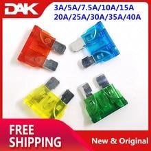 100PCS Mini Size kit Blade fuse Automobile Car Include Ampere : 3A/5A/7.5A/10A/15A/20A/25A/30A/35A/40A Each 10 pieces