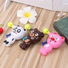 Детские игрушки мультфильм животных пузырьки воздуходувки пистолет игрушка выталкивание пузырьков Дети подарок и Прямая поставка