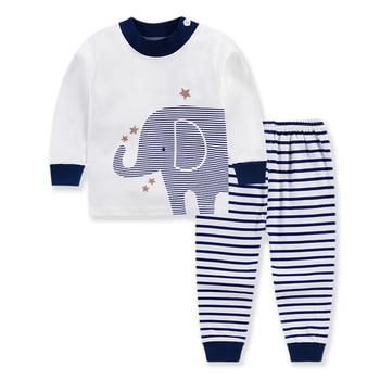 0-24M Baby Clothing Sets Autumn Baby boys Clothes Infant Cotton Girls Clothes 2pcs newborn baby Underwear Kids Clothes Set - G, 6M