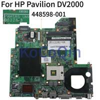 KoCoQin ノートパソコンのマザーボード Compaq V3000 DV2000 から 448598 001 06228-3 965 DDR2
