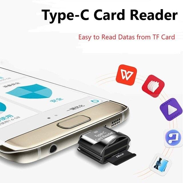 Lector de tarjetas Onvian USB 3,0 SD/Micro SD TF OTG lector de tarjetas de memoria inteligente tipo C adaptador de USB-C para Huawei Samsung Xiaomi PC MacbooK
