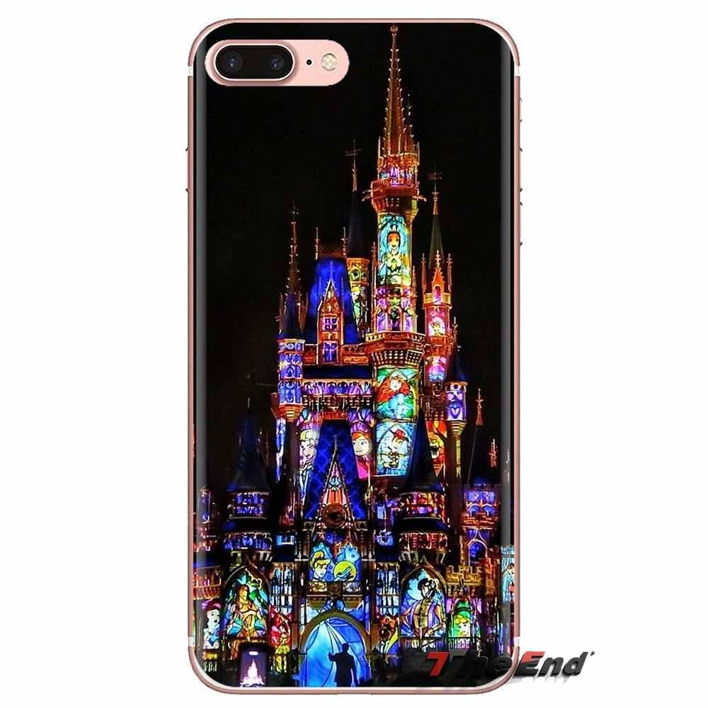 Princesse Vitrail Pour Huawei G7 G8 P7 P8 P9 Lite Honneur 4C 5X 5C 6X Mate 7 8 9 Y3 Y5 Y6 II 2 Pro 2017 TPU Housses Transparentes