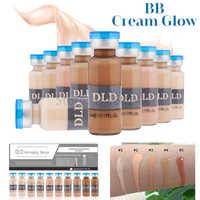 10Pcs/Box 5ml BB Cream Meso White Brightening Serum BB Cream foundation Beauty Salon Cosmetic makeup liquid foundation