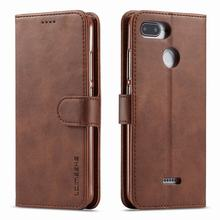 Luxury-Cases Vintage Phone Note-7 Xiaomi Redmi for 6A 7A Cover Magnet Flip Wallet Bags