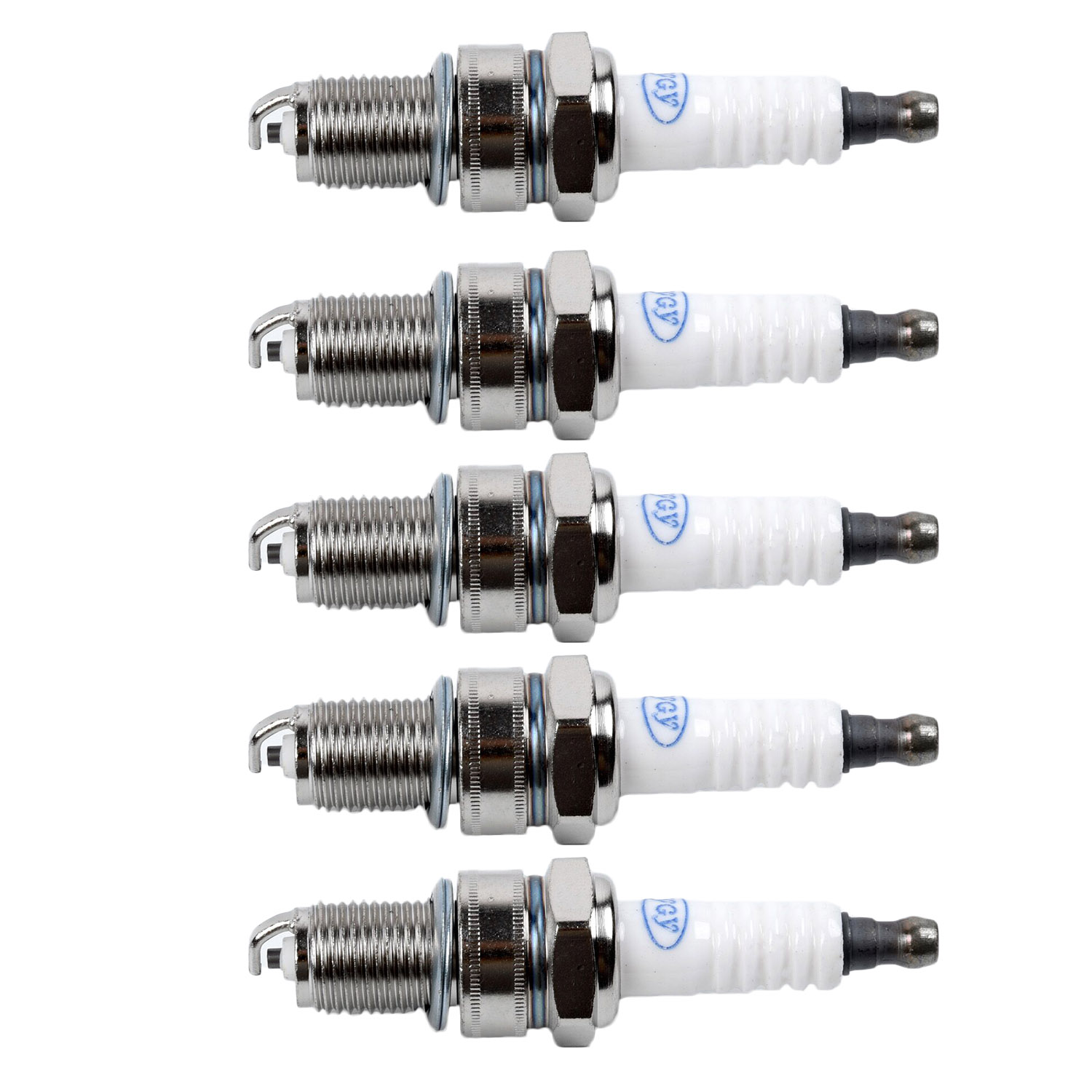 5pcs Spark Plug For Honda GX120 GX160 GX200 GX240 GX270 GX340 GX390 Power Equipment Accessories Lawnmower Parts