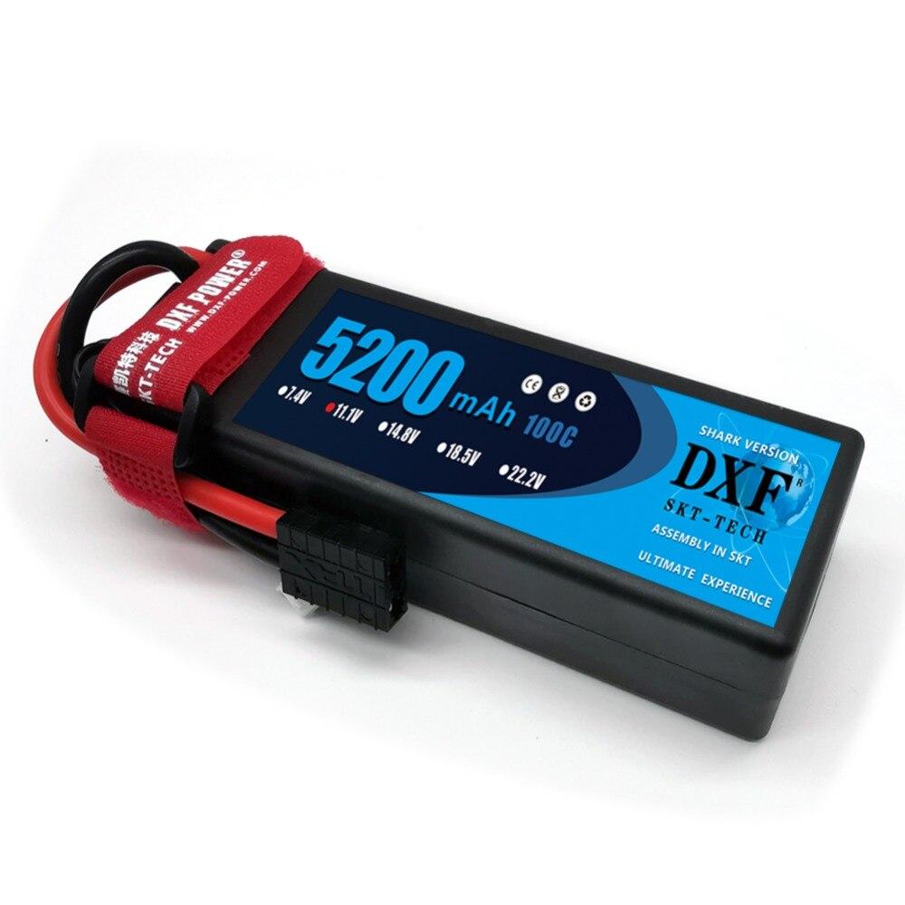 DXF 3S 11.1V 5200mAh 100C Hardcase