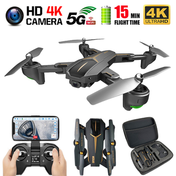 VISUO XS812 GPS Drone with 4K HD Dual Camera 5G WIFI Altitude Hold Follow Mode RC Drones GPS Quadcopter RC Helicopter Dron