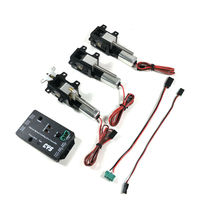 3PC/Set CYS R2090 90 Degree Electric Rotating Retract Landing Gear For 6.0~12kg RC Vortex/ Jet Aircraft