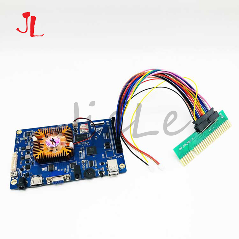 134 X 3d Game 2448 In1 Game Console PCB 3D Arcade Machine Board Support CGA VGA HDMI For HD Video Games Console Pandora Treasure