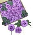 25 шт. 8 см пенополиэтилен Искусственные цветы розы в форме искусственных цветов, Свадебные Свадебный декор букета