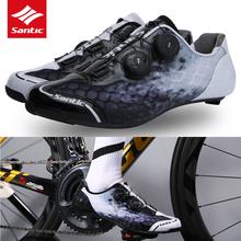 Santic mężczyźni kolarstwo buty szosowe oddychające antypoślizgowe podwójne obrotowe klamry buty rowerowe poręczny podeszwa z włókna węglowego rozmiar azjatycki tanie tanio CN (pochodzenie) Dla dorosłych Syntetyczny Średnie (b m) Gumką santic113 Pasuje mniejszy niż zwykle proszę sprawdzić ten sklep jest dobór informacji