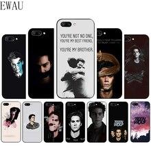 EWAU teen wolf stiles stilinski impreso caja del teléfono de silicona para Huawei Honor 6A 7A 7C 7X 8C 8X8 9 Nota 10 Lite 20 9X pro