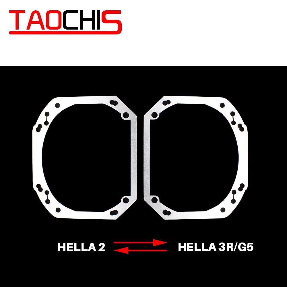 TAOCHIS Car-Styling Frame Adapter Module DIY Bracket Transition Frame Hella 2  Hella 3 5  Projector Lens Retrofit Framework