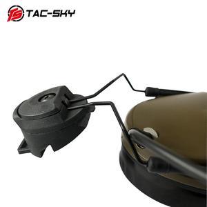 Image 4 - COMTAC  TAC SKY  comtac iii helmet fast track bracket version silicone earmuffs noise reduction pickup tactical headset  FG