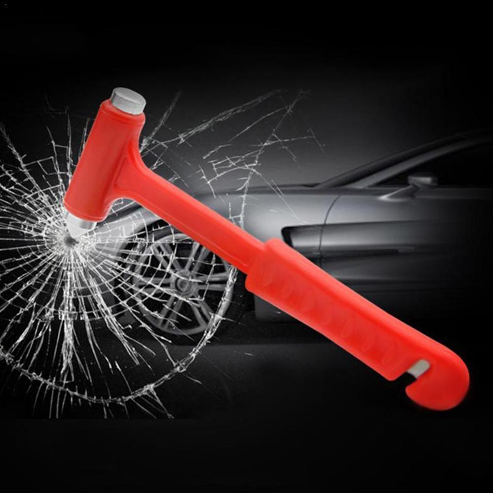 Seat Belt Window Glass Breaker Car Rescue Tool Mini Car Safety Hammer Life Escape Emergency Hammer Saving V0F8
