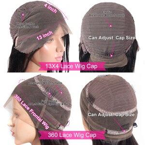 Image 5 - باروكات شعر بشري أمامية من الدانتيل من Recool باروكة واسعة مموجة 180 كثافة 250 باروكة أمامية من الدانتيل 360 باروكة شعر طبيعي مموج مسبقًا