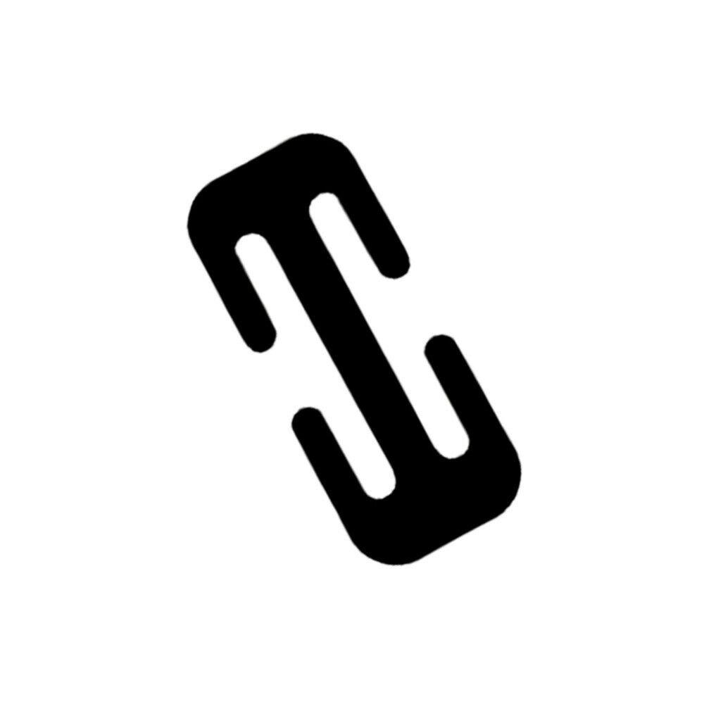 Image 2 - 38MM/52MM Car Metal Safety Seat Belt Adjuster Automotive Locking Clip Belt Strap Clamp Shoulder Buckle For Adult Children-in Seat Belts & Padding from Automobiles & Motorcycles