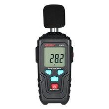 MESTEK Мини ЖК-цифровой измеритель уровня шума Измеритель уровня звука 35-135dB измерительный прибор для измерения уровня шума децибел контрольный тестер
