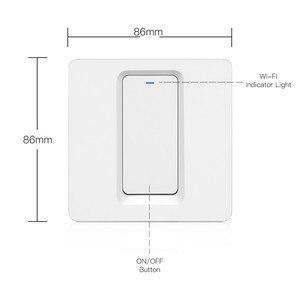 Image 5 - WiFi akıllı ev ışık anahtarı basma düğmesi uzaktan anahtarı kontrol çalışma akıllı yaşam/Tuya APP ile Alexa Google ev için ses kontrolü