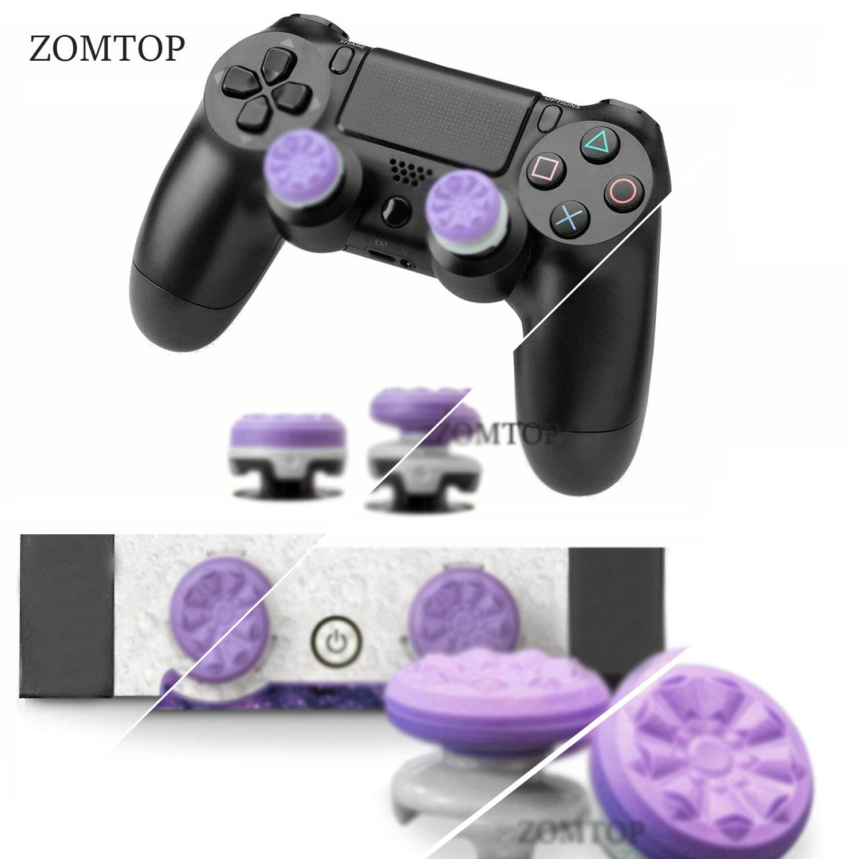 FPS para PlayStation 4 (PS4), cubierta para chinchetas, tapas para Joystick con agarre para el pulgar, para controladores de Gamepad PS4